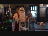 Дед Мороз и Снегурочка поздравляют подписчиков группы Ростов Главный с Новым годом