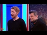 'Star Wars The Last Jedi' interview Andy Serkis and Domhnall Gleeson
