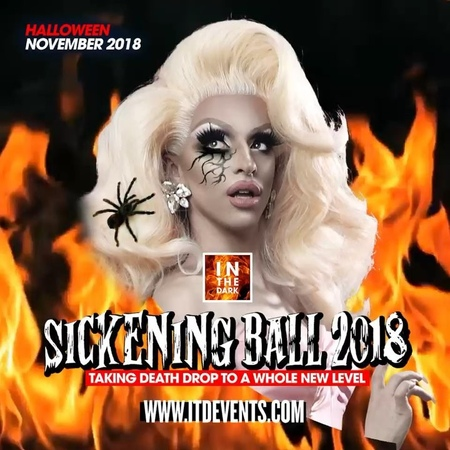 "In The Dark Presents on Instagram ""Get excited coz @miz_cracker is coming to get sickening! She will be in Aus for SickeningBall2018 • 2ND NOV M..."