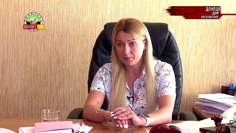 Дарья Морозова в эфире передачи «Главное за неделю» от 22.06.2019 на телеканале «Оплот ТВ»