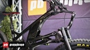 Wild Linkage Fork on Structure Cycleworks' Carbon Enduro Bike | Sea Otter 2019