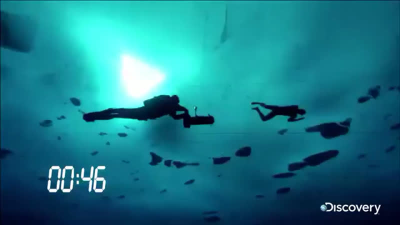 Мировой рекорд. Подлёдное плавание