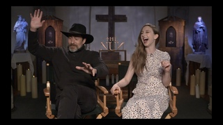 THE NUN Interviews: Demian Bichir, Taissa Farmiga and Corin Hardy (Director)