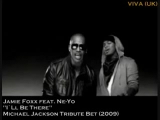 Jamie Foxx feat. - I'll Be There - Michael Jackson Tribute Bet 2009