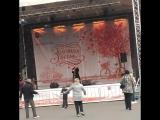 Владимир Брилев!!! Без фонограммы Талантище!!! Жду коментарии... #концерт #золотаяосень #паркузьминки #парк #сцена #талант #пев