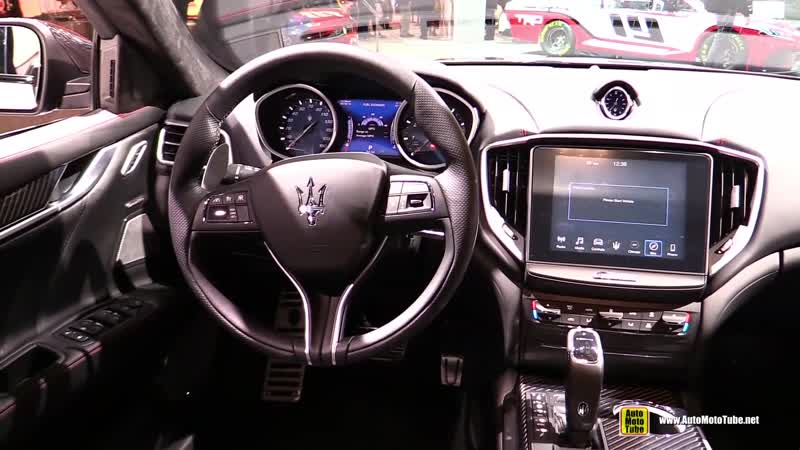 2019 Maserati Ghibli Gran Sport - Exterior and Interior Walkaround - 2018 LA Auto Show
