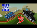 Hills of steel Mammoth tank Super tank vs Super boss Games bii