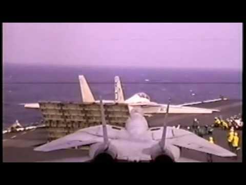 Aircraft Carrier USS Coral Sea Flight Deck 88 89 2