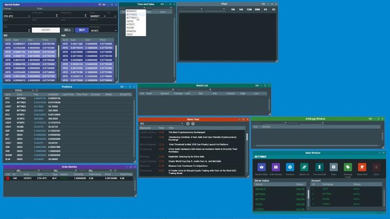 Tradelize Terminal - инструкция использования профессионального терминала для крипто трейдинга