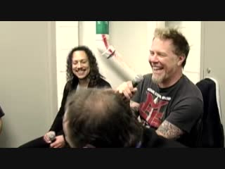 James Hetfield and Dave Mustaine - The Four Laughing Horsemen [LaughCover]