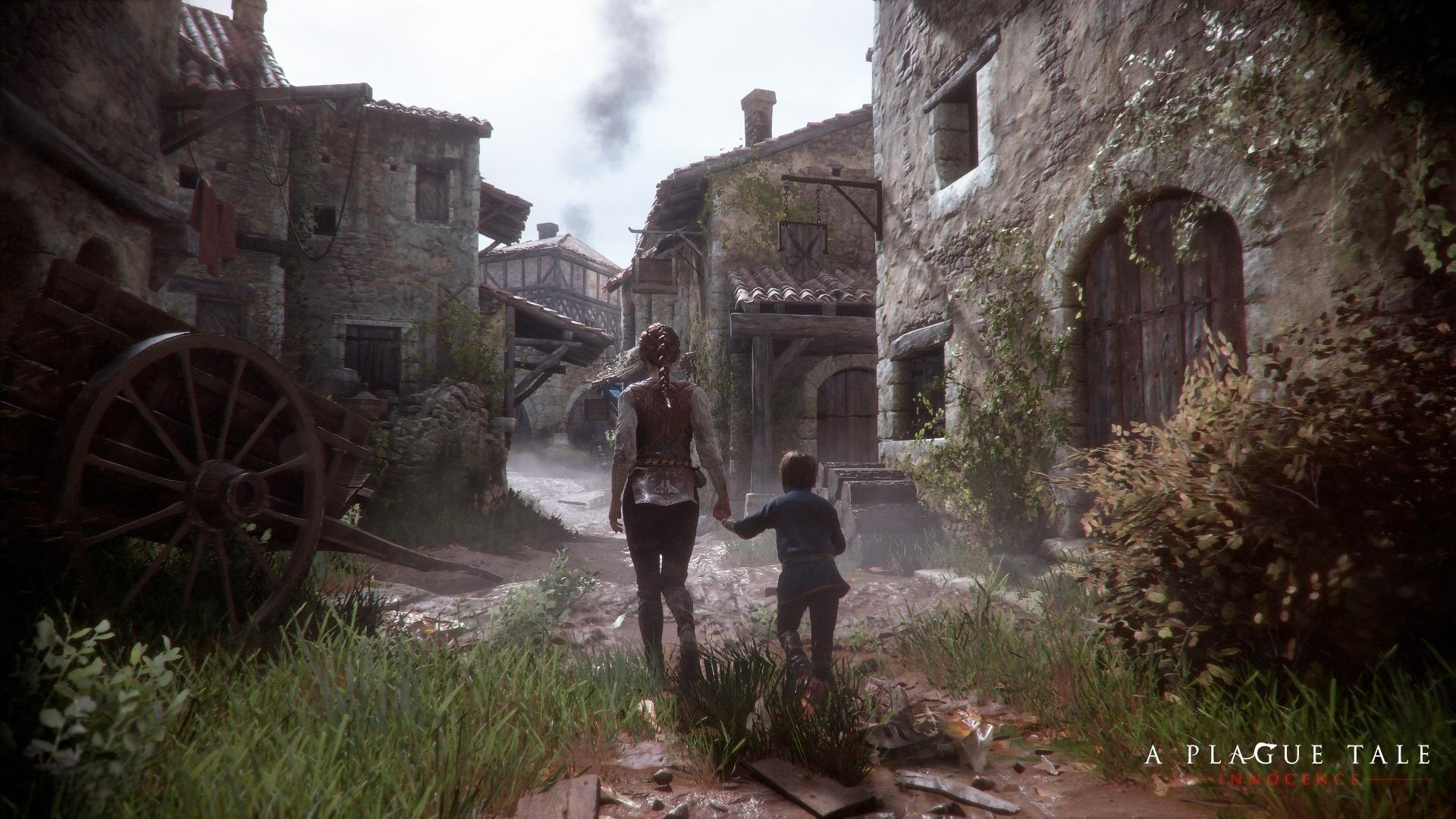 Свежие скриншоты A Plague Tale: Innocence. Выход игры состо