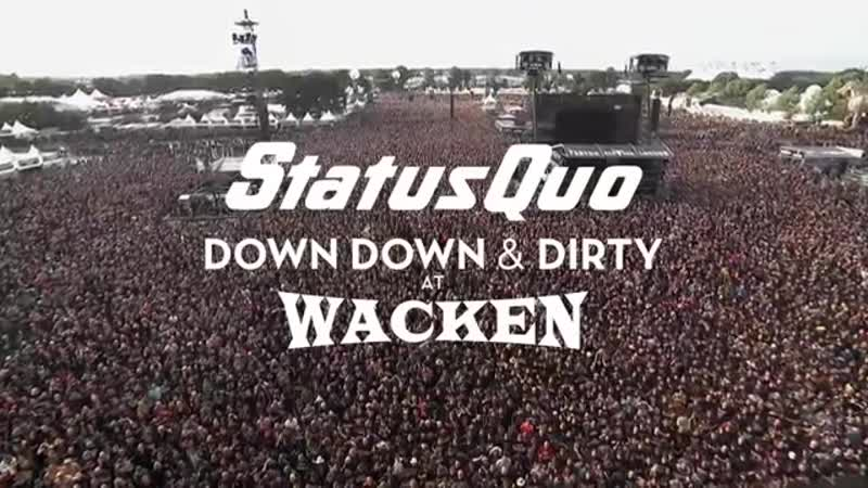 Status Quo In The Army Now (Live at Wacken 2017) - from Down Down Dirty At Wac