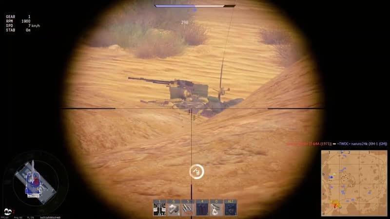 War Thunder Type 90 ESP Type spawn camp kappa