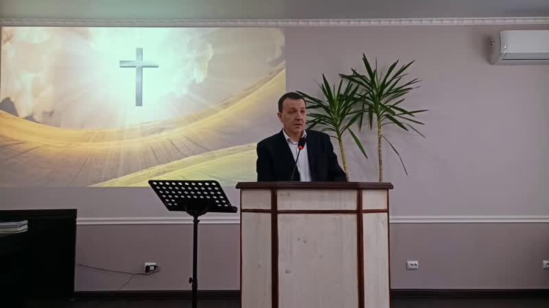 Проповедует Лисицын М.И.