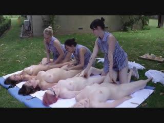 Лесбийская груповушка - amateur xxx homemade мамки milf домашнее porn порно любительское секс orgy оргия