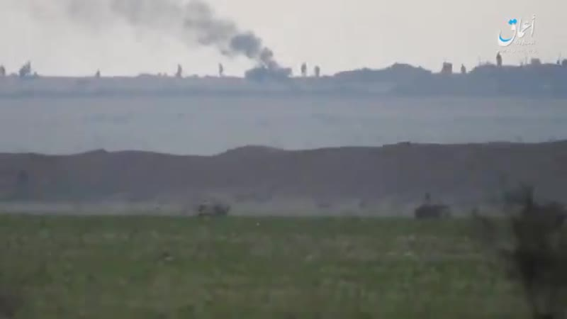 ПТУР ИГ по броне Курдов