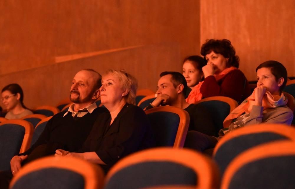 Зрители на открытой репетиции