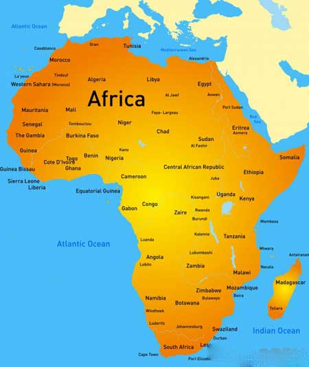 Основа религии вуду пришла из Африки.