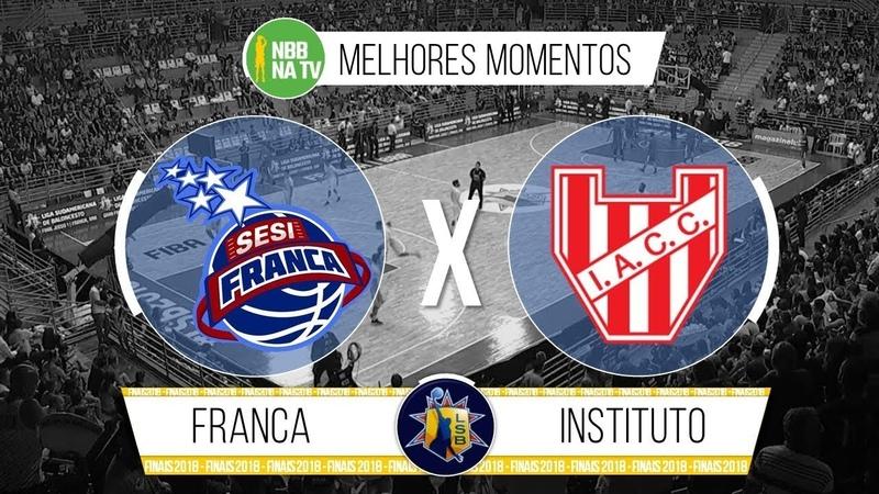Franca 92-90 Instituto de Córdoba - Jogo 1 - Melhores Momentos (Liga Sul-Americana 2018) 07122018
