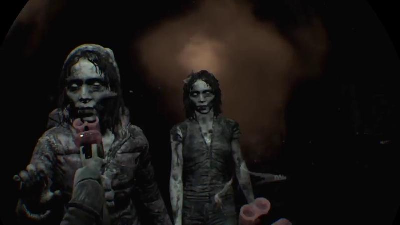 Until dawn:rush of blood.2я глава.Ps vr.Виртуальная реальность на playstation4 pro.