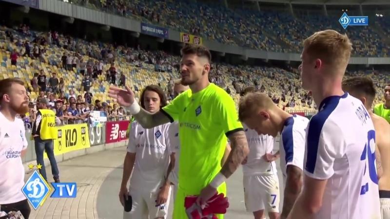 Відверта розмова динамівців після матчу з Карпатами
