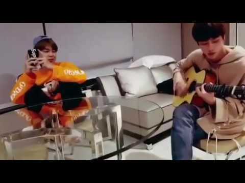 BTS Jin and Jimin Butterfly acoustic