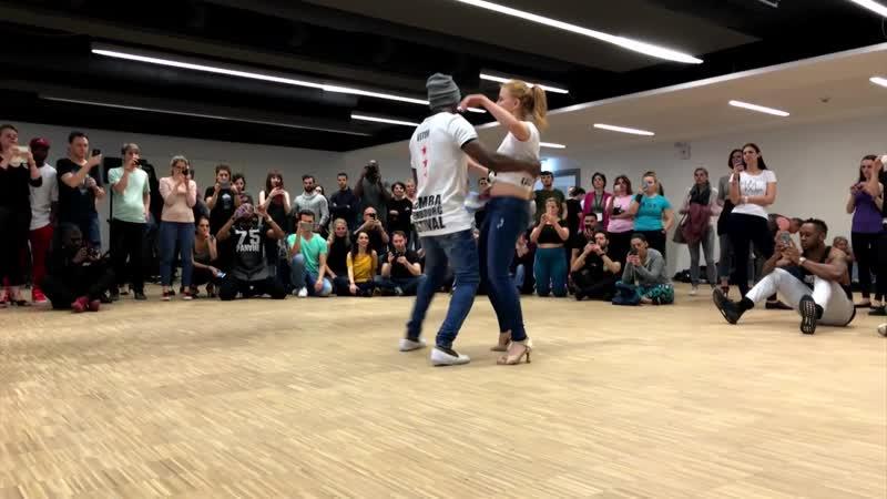 Shinna Way _ Vitor Ivona Ghetto Zouk Dance