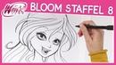 Winx Club - Staffel 8 - Wie zeichnet man Bloom [TUTORIAL]