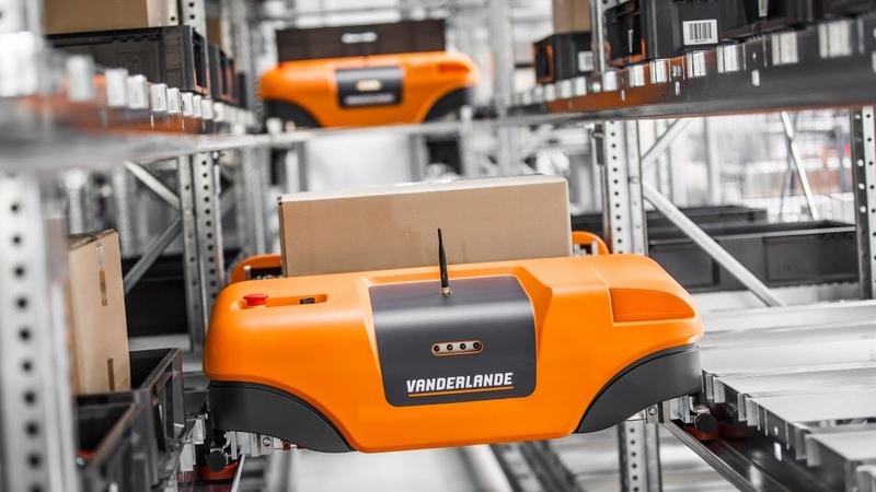 Vanderlande ADAPTO shuttle-based automated storage and retrieval system