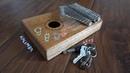 Kalimba keys by Louie Zong
