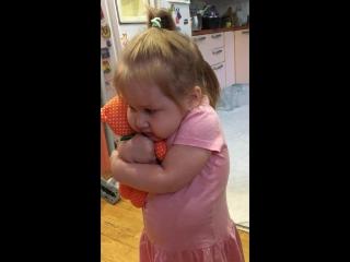 Любимая внученька Ирины Боковой - про мишку