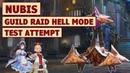 King's Raid - Guild Raid Nubis Hell Mode Showcase Brief Guide