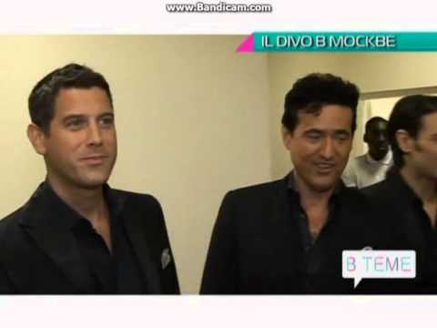 IL DIVO Interview Moscow 17 6 2013