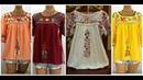 Latest Hand Embroidery Kurti/ Kurta short shirts Designs