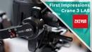 Zhiyun Crane 3 LAB First Impressions at IITF 2018