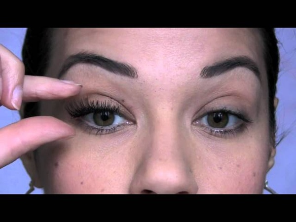How To Apply False Lashes​​​ | Eman​​​