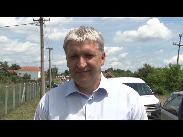 Mladenovac Počeli radovi na putu Aranđelovac - Mladenovac. 07-06-2019