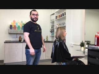 Live. мейкап для волос от бренда jean paul myne.