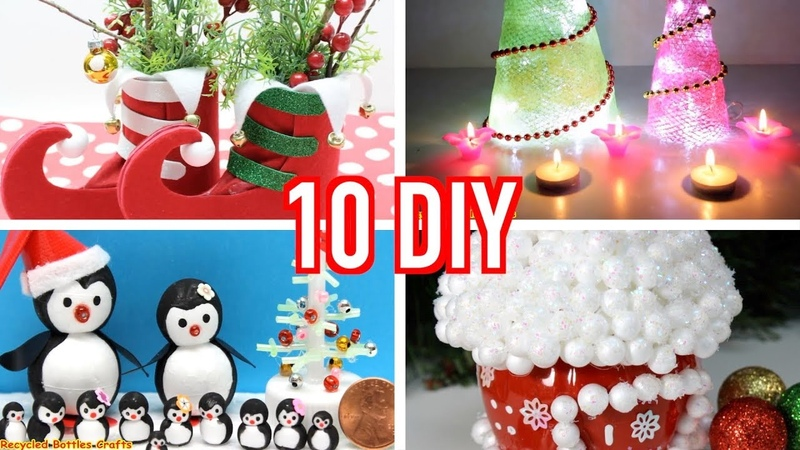 10 Amazing DIY Christmas Decorations Ideas That Will Make Your Kids Happy Art and Craft
