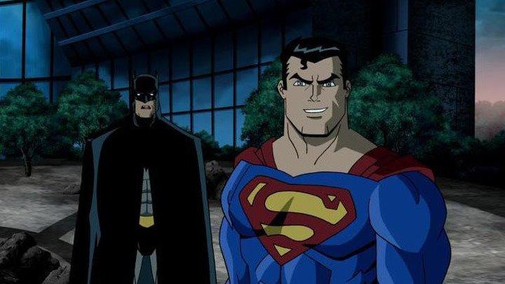 Супермен Бэтмен Враги общества