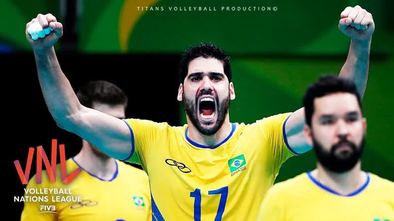 Evandro Guerra The Best of FIVB VNL 2018