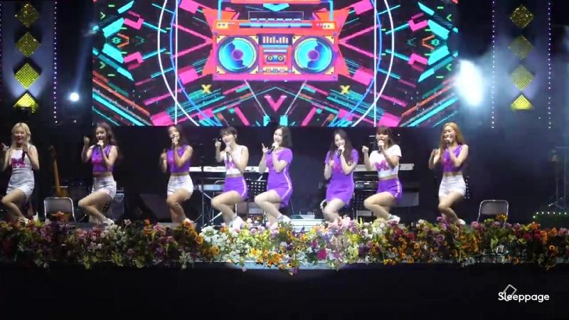 180825 MOMOLAND [FullCam] @ The 15th Chupung Ryeong Song Festival