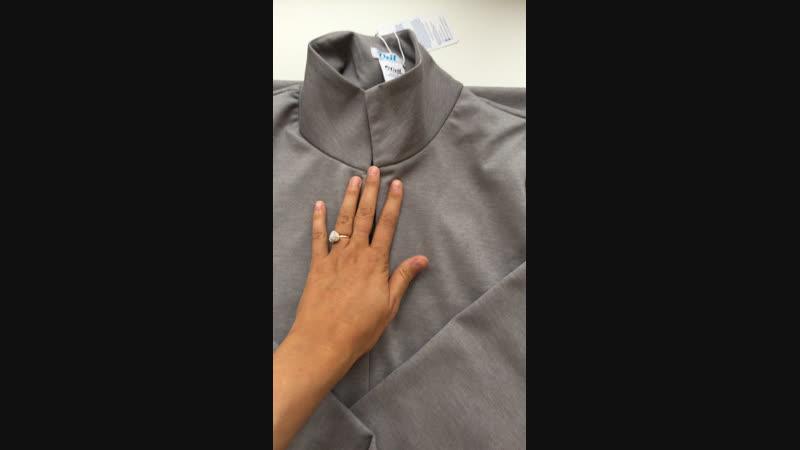 ❄️Видео обзор осенне зимнего платья Айше 2700₽ размеры 42 52❄️