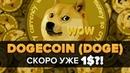 КРИПТОВАЛЮТА DOGECOIN DOGE ДОГИКОИН до 1 $ обзор и ПРОГНОЗ ЦЕНЫ ДАСТ Х100 х200