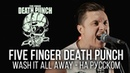 Five Finger Death Punch Wash It All Away Cover by Radio Tapok на русском