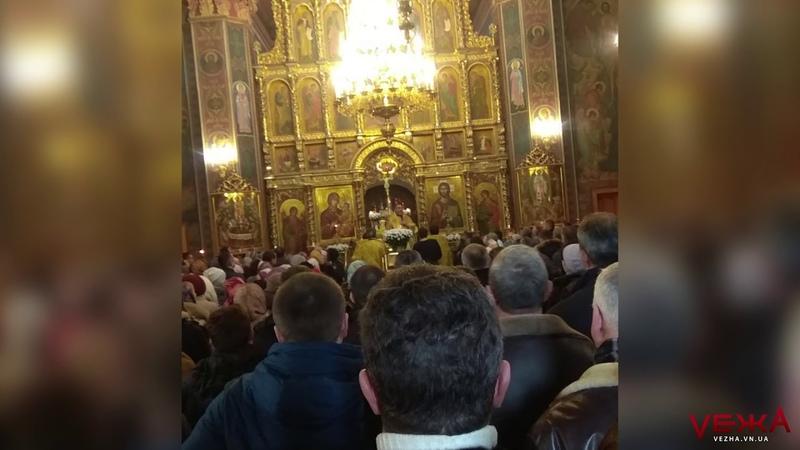 Браво! як у Вінниці зреагували на промову митрополита Симеона про перехід в українську церкву
