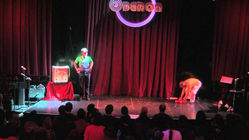 A Different Spin - Super Mario Juggling Act