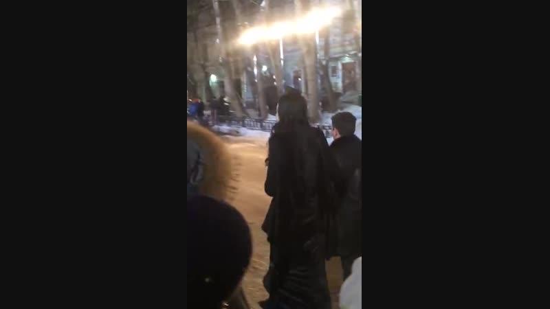 Аида Грифаль на съёмках финальной серии 3