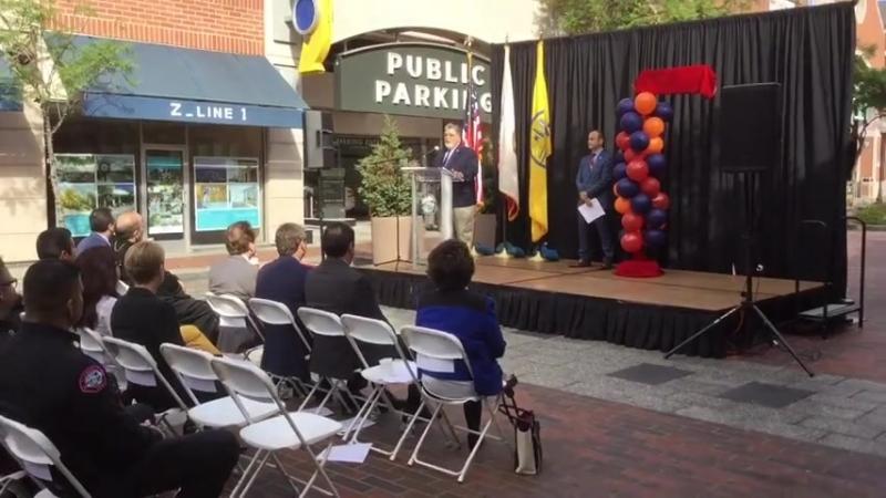 Церемония переименования Мериленд авеню в Арцах авеню в Лос-Анджелесе
