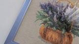 Вышивка крестиком Оформленная лаванда от Риолис